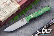 Bravo EDC Elmax Green & Gold Elder Burl - Rampless