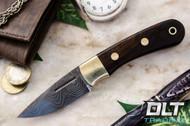 Essential Damascus - Bolster - Desert Ironwood - #1