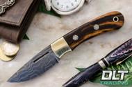 Essential Damascus - Bolster - Desert Ironwood - Mosaic Pins