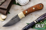 Essential Damascus - Bolster - Desert Ironwood - Orange Liners - #2