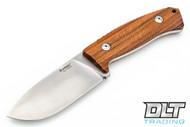 LionSteel M3 Fixed Blade - Santos Wood