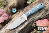 Bravo Necker II CPM-154 Blue Tigertail Maple Burl