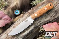 Bravo Necker II CPM-154 Marvel Wood - Orange & Blue Liners - Brass Hardware