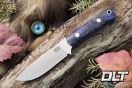 Bravo Necker II CPM-154 Purple & Gold Elder Burl