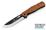 TOPS Fieldcraft Folder - Partially Serrated