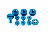 Hinderer Eklipse Hardware Kit - Blue
