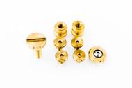 Hinderer Half Track Hardware Kit - Brass
