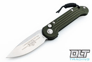 Microtech 135-4OD LUDT S/E - OD Green Handle - Satin Blade
