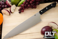 "10"" Chef's Knife CPM-154 Black Canvas Micarta"