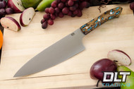 "8"" Chef's Knife CPM-154 Cholla Cactus with Turquoise"