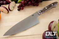 "8"" Chef's Knife CPM-154 White Pinecone"