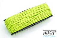 Fluorescent Green Reflective 550 Paracord - 100 Feet