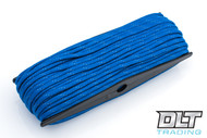 Blue Reflective 550 Paracord - 100 Feet