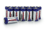 Tenergy Lithium Ion Batteries - CR123A 12-Pack