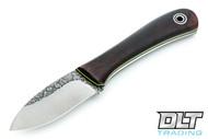 Fiddleback Forge EDC II  - Desert Ironwood - Black & Lime Liners