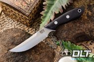 Adventurer Persian CPM-154 Black Canvas Micarta - Matte Finish
