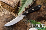 Adventurer Persian CPM-154 Black Canvas Micarta - Red Liners - Mosaic Pins