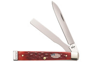 Case Doctor's Knife Dark Red Bone