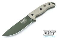 ESEE 5P - Kydex Sheath - Olive Drab Blade