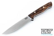 Gunny Vortex Jimped - Desert Ironwood Burl - Black Liners - Mosaic Pins - #3