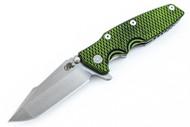 Hinderer Eklipse Harpoon Spanto - Toxic Green & Black G-10