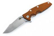 Hinderer Eklipse Harpoon Spanto - Orange & Black G-10