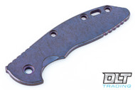 "Hinderer 3.5"" XM-18 Smooth Titanium Handle Scale - Multi Color Anodized #11"