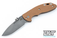 Hinderer XM-18 Slipjoint Spanto - Working Finish - Coyote G-10