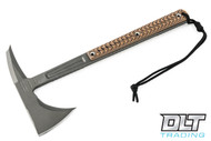 RMJ Tactical Kestrel Feather - Hyena Brown G-10