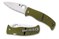 Spyderco Caribbean Leaf Blade - Fully Serrated