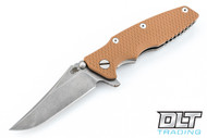 Hinderer Eklipse Bowie - 30th Anniversary - Coyote G-10
