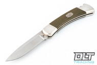 Buck 110 Ultimate Hunter S35VN - Limited Edition - Green Canvas Micarta