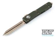 Microtech 223-13OD Ultratech Spartan D/E - OD Handle - Bronze Blade