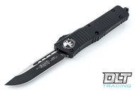 Microtech 143-1T Combat Troodon Tactical S/E - Black Handle - Black Blade