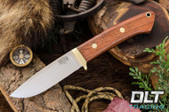 Classic Drop Point Hunter A2 - Brass Hardware - Rosewood