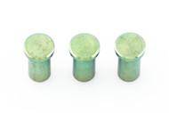 "Hinderer Green Anodized 3.5"" XM-18 Nut Set"