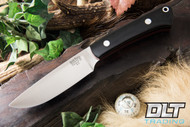 Highland Special Black Canvas Micarta - Red Liners
