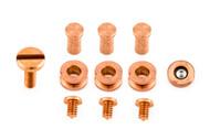 """Hinderer XM-18 3.5"""" Hardware Kit - Copper"""
