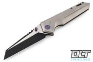 We Knife 609G - Plain Handle - Two Tone Blade