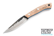 Lon Humphrey Bird & Trout - Blonde Curly Maple - Blue Liners - #52