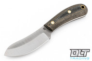 LT Wright Camp MUK 3V - Saber Ground - Camo Linen Micarta - Matte Finish