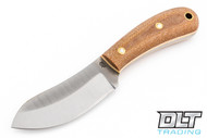 LT Wright Camp MUK 3V - Saber Ground - Natural Micarta - Snakeskin Liners - Matte Finish