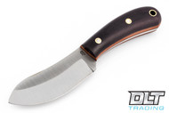 LT Wright Camp MUK 3V - Saber Ground - Double Red Micarta - Natural Liners