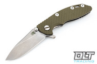 "Hinderer 3"" XM-18 No Choil Slicer M390 - OD Green G-10"