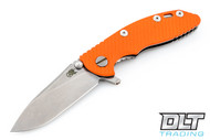 "Hinderer 3"" XM-18 No Choil Slicer M390 - Orange G-10"