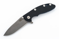 "Hinderer 3"" XM-18 No Choil Slicer M390 - Working Finish Blade - Battle Blue - Blue & Black G-10"
