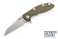 """Hinderer 3"""" XM-18 Wharncliffe - OD Green G-10"""