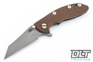 """Hinderer 3"""" XM-18 Wharncliffe - Working Finish - FDE G-10"""