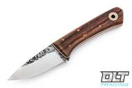 Fiddleback Forge 3 Finger Karda - Desert Ironwood - Natural & White Liners