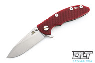 "Hinderer 3"" XM-18 No Choil Slicer M390 - Red G-10"